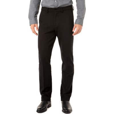 Liverpool Saville Slim Fit Knit Pants, Black