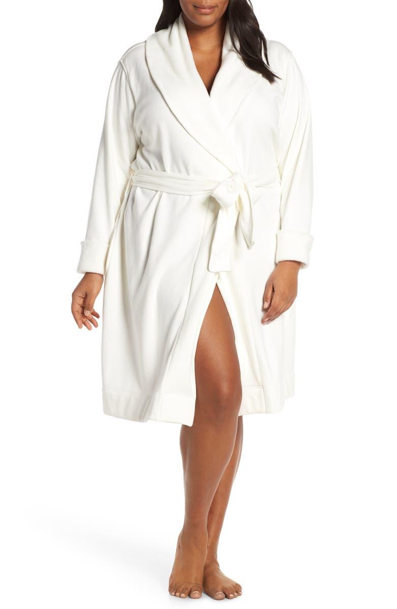 UGG<SUP>®</SUP> Blanche II Short Robe, Main, color, CREAM