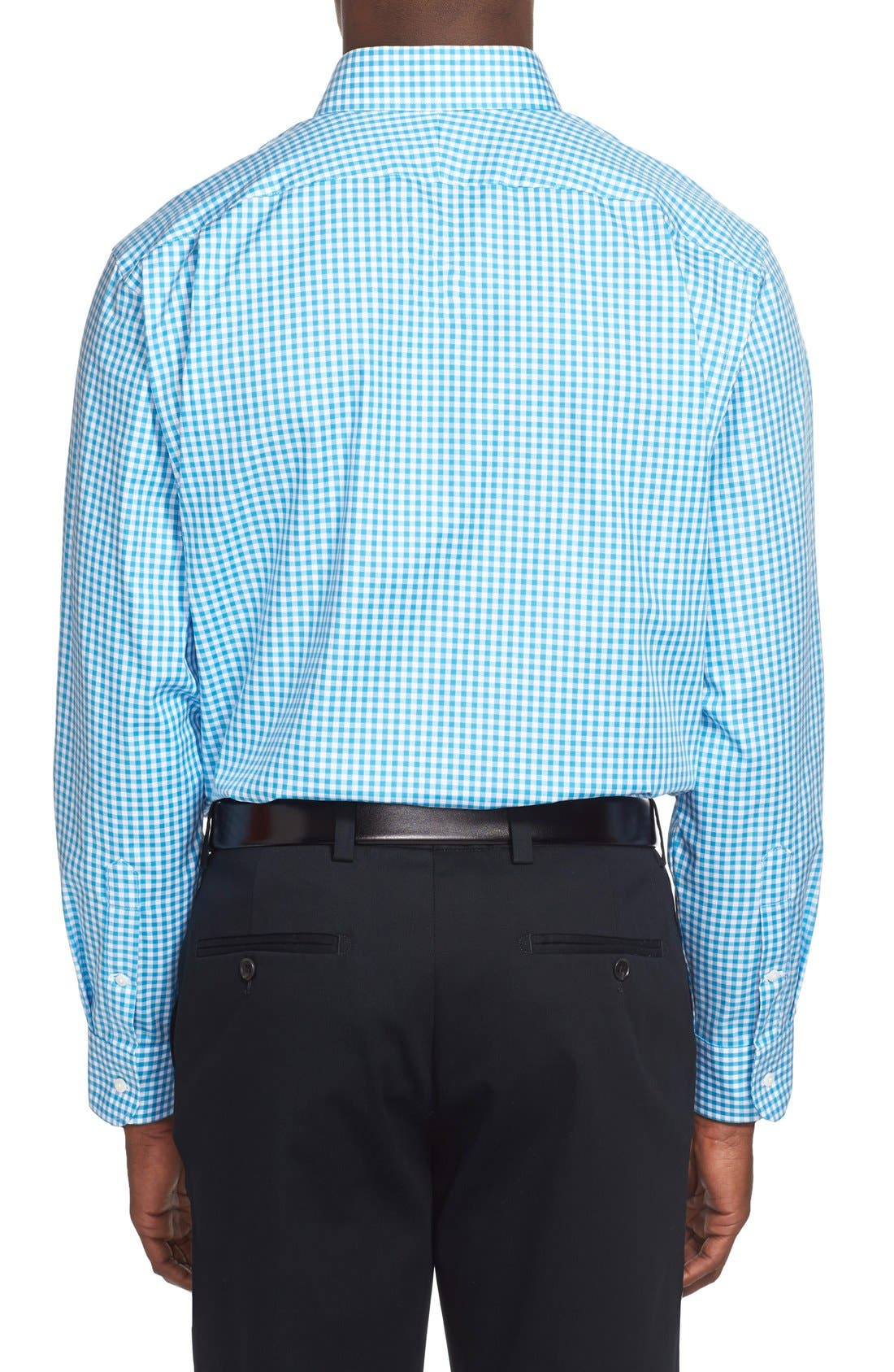 ,                             Traditional Fit Non-Iron Gingham Dress Shirt,                             Alternate thumbnail 54, color,                             420