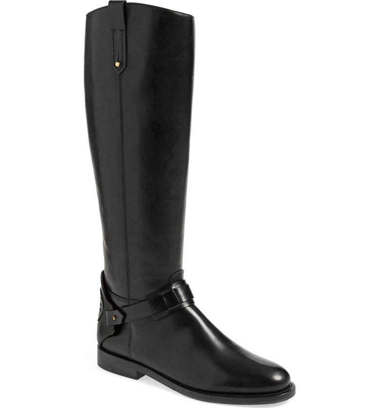 dc9b57f81c26 Tory Burch 'Derby' Leather Riding Boot (Women) | Nordstrom