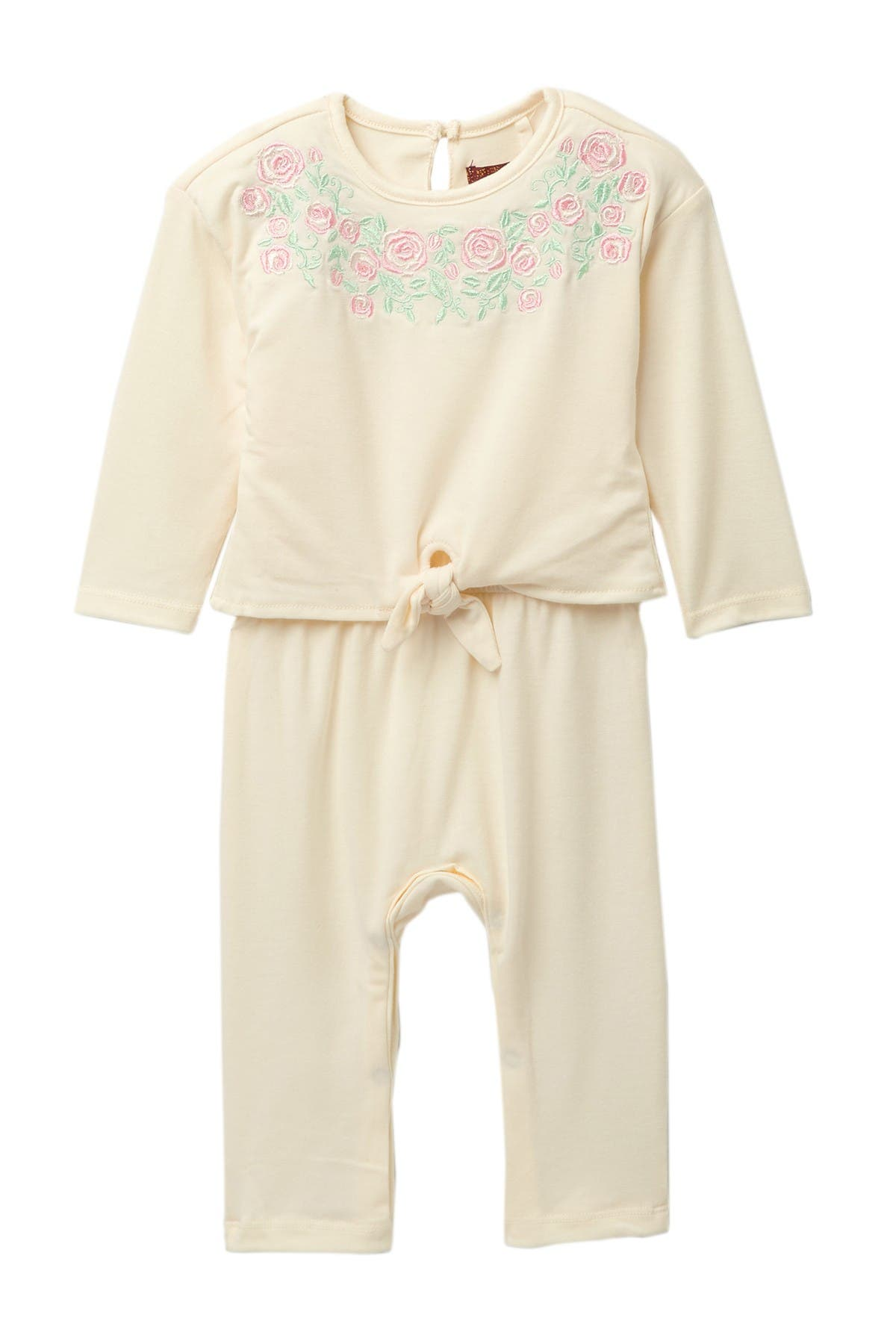 Image of 7 For All Mankind Embroidered Popover Coverall
