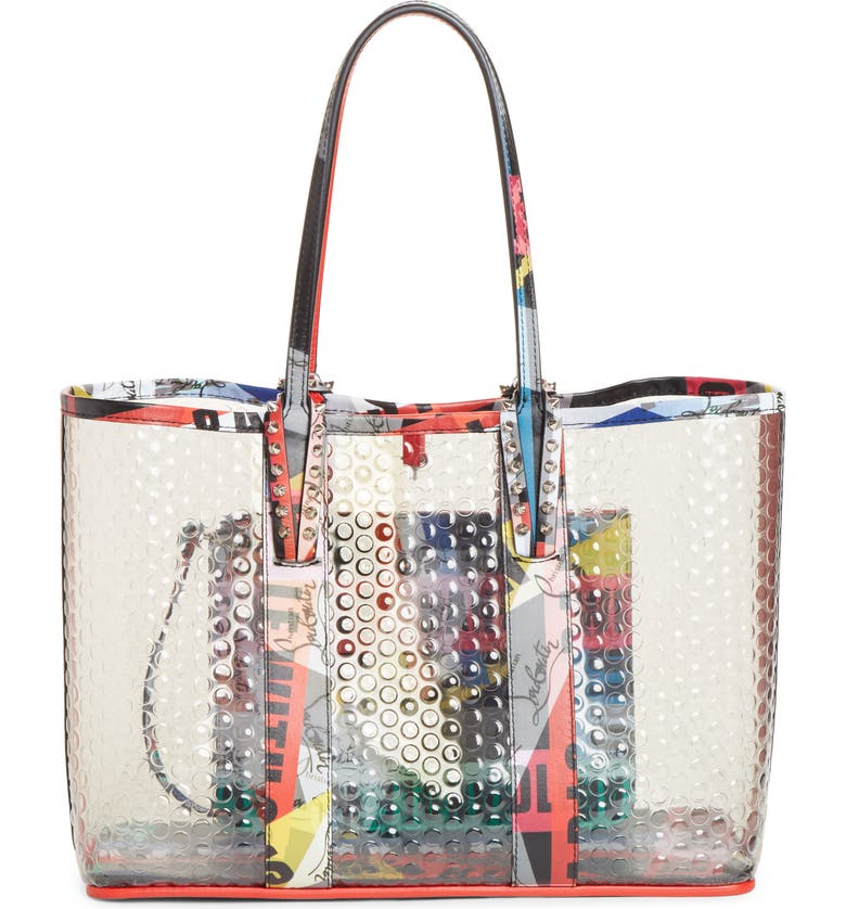 2d3d56c28d0 Christian Louboutin Small Cabata PVC Tote | Nordstrom