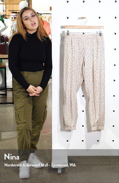 Polka Dot Silk Pants, sales video thumbnail