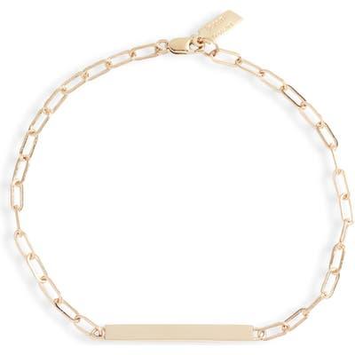 Loren Stewart Long Link Id Bracelet