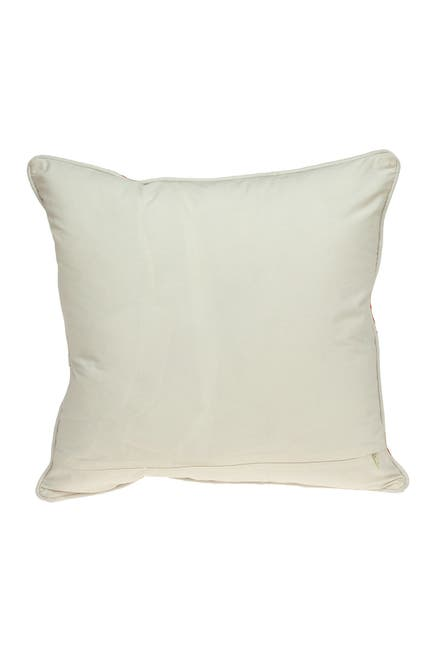 Image of Parkland Collection Menti Beige Throw Pillow
