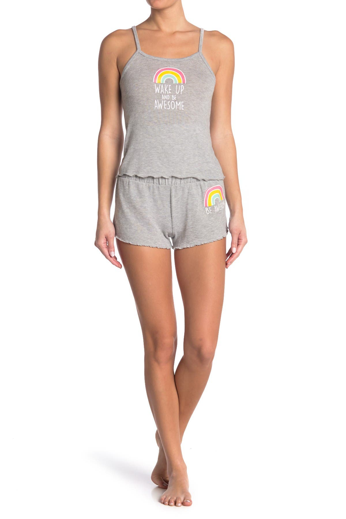 Image of Rampage Wake Up And Be Awesome Pajama Set