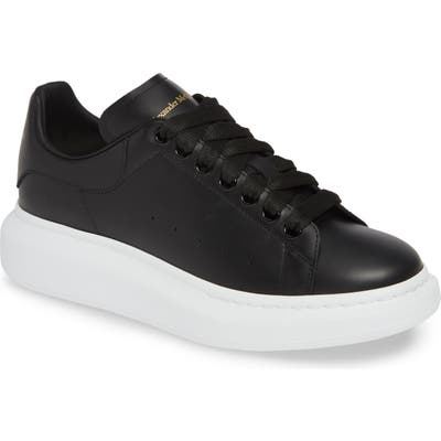 Alexander Mcqueen Oversize Low Top Sneaker, Black