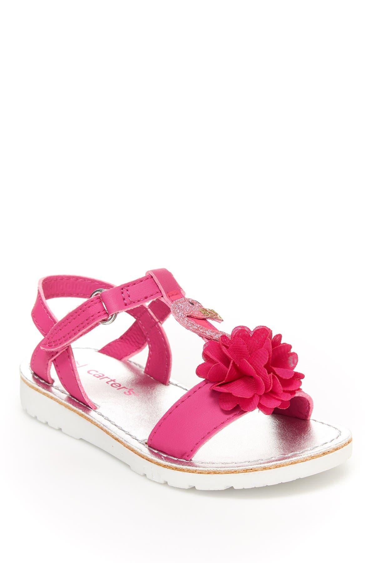 Image of Carter's Wenna Flower T-Strap Sandal