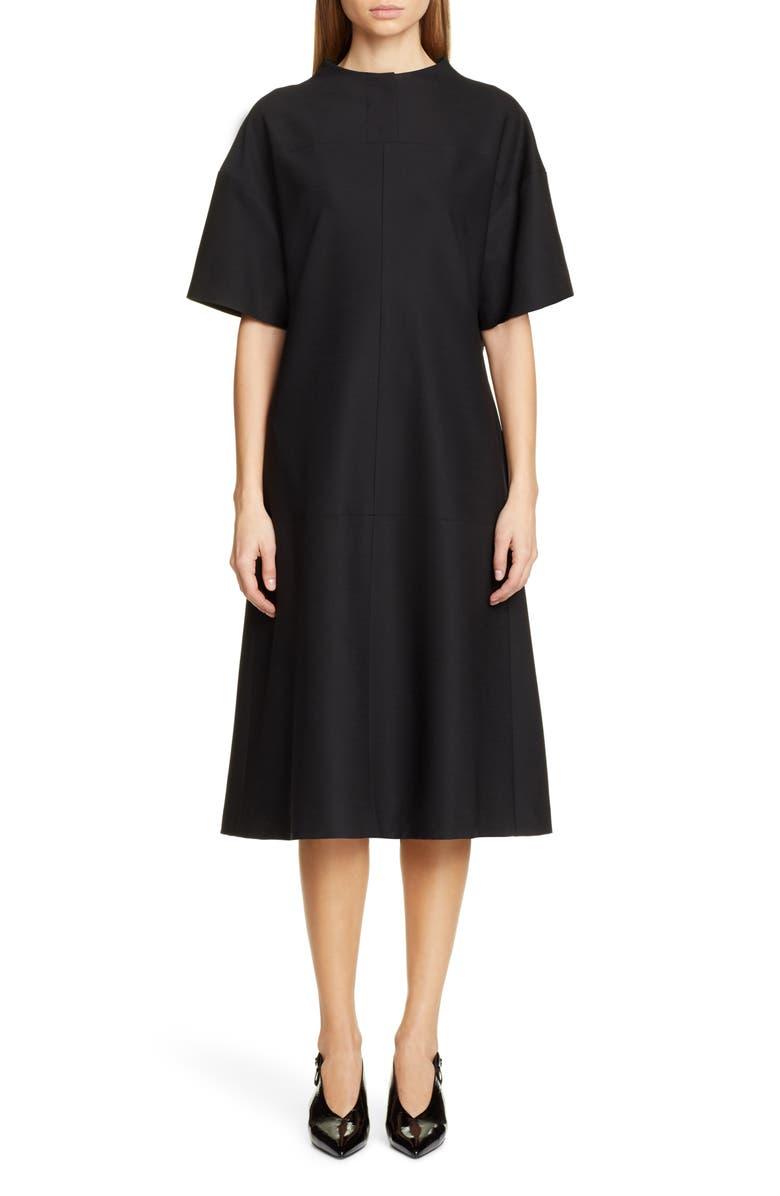 PARTOW Elise Dress, Main, color, BLACK