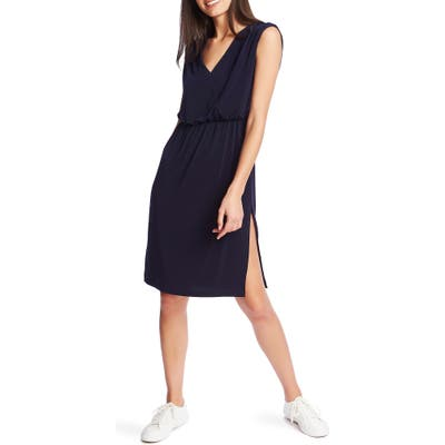 1.state V-Neck Sheath Dress, Blue
