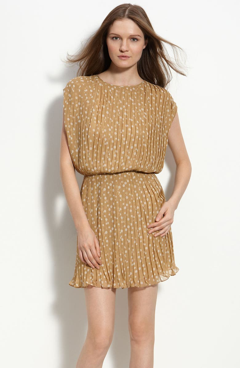 RADENRORO 'Adila' Polka Dot Dress, Main, color, 280