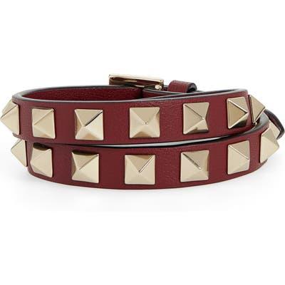 Valentino Rockstud Double Wrap Bracelet