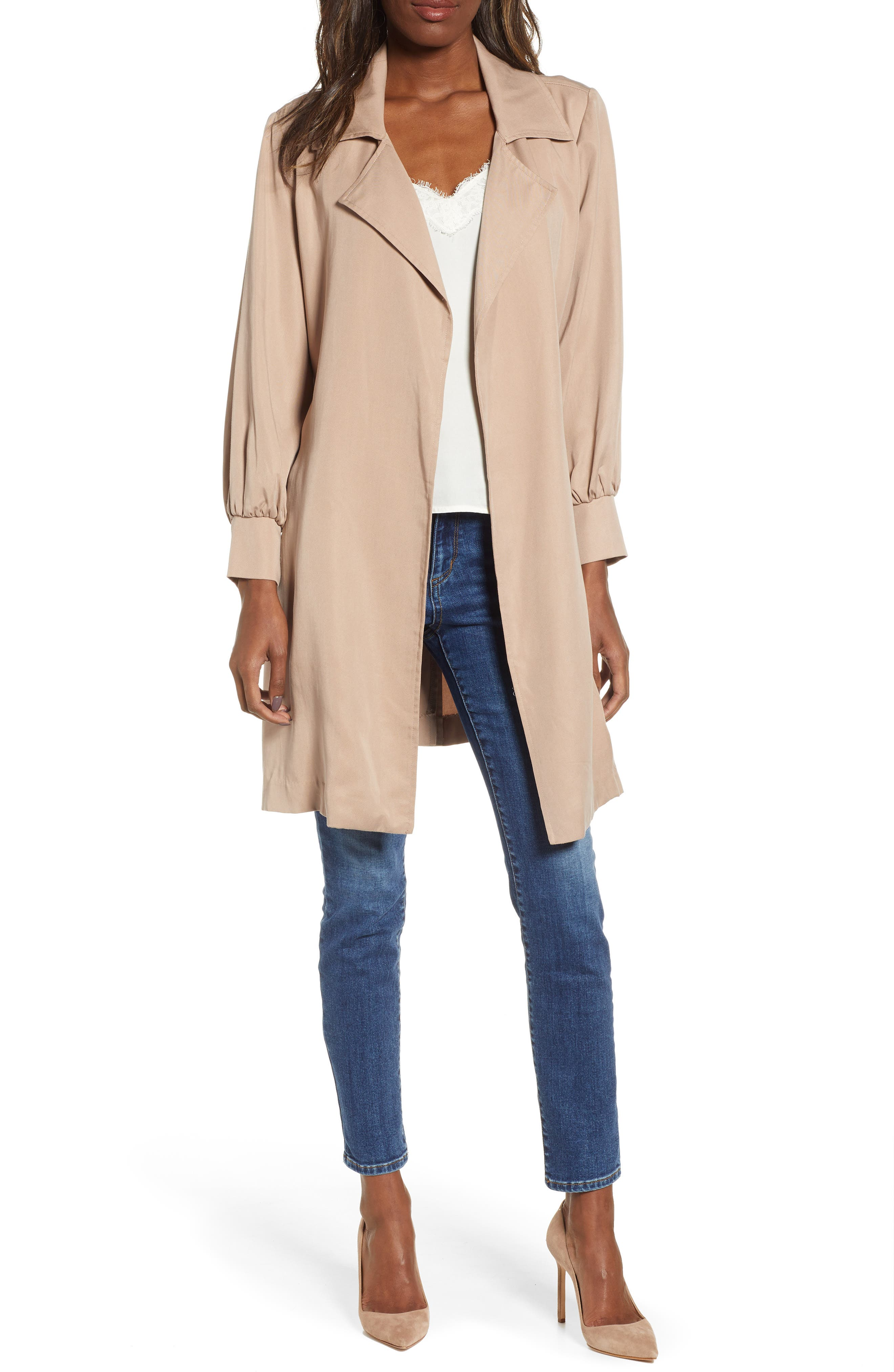 Bb Dakota Trench Coat, Beige