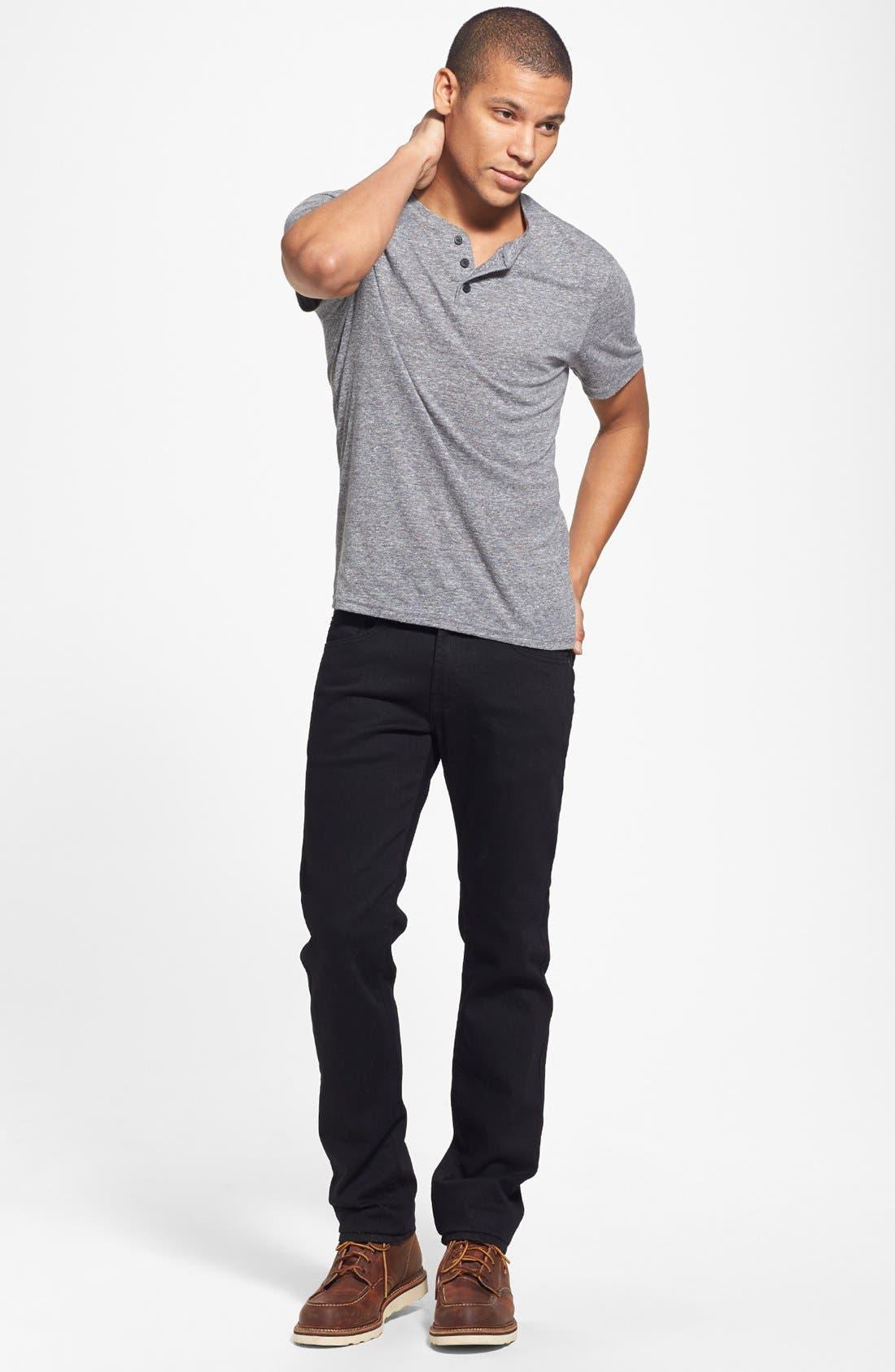 ,                             'Matchbox' Slim Fit Jeans,                             Alternate thumbnail 6, color,                             001