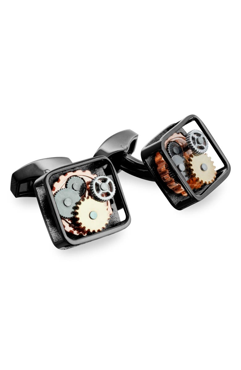 Tateossian Square Gear Cuff Links