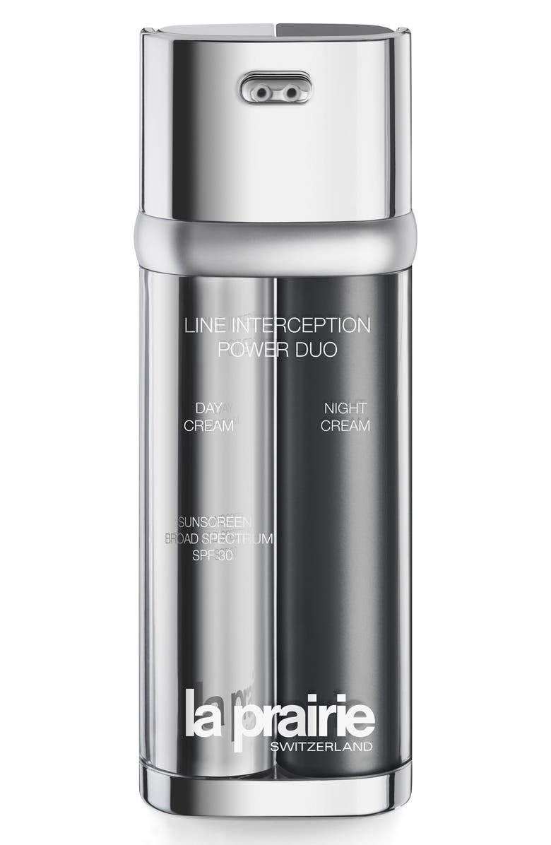 LA PRAIRIE Line Interception Power Duo Cream, Main, color, 000