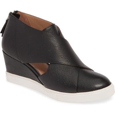 Linea Paolo Faith Wedge Sneaker, Black