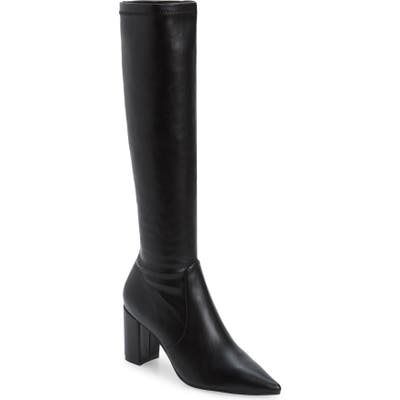 Silent D Nomess Knee High Boot, Black