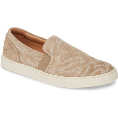 Frye Ivy Primrose Slip-On Sneaker, Beige