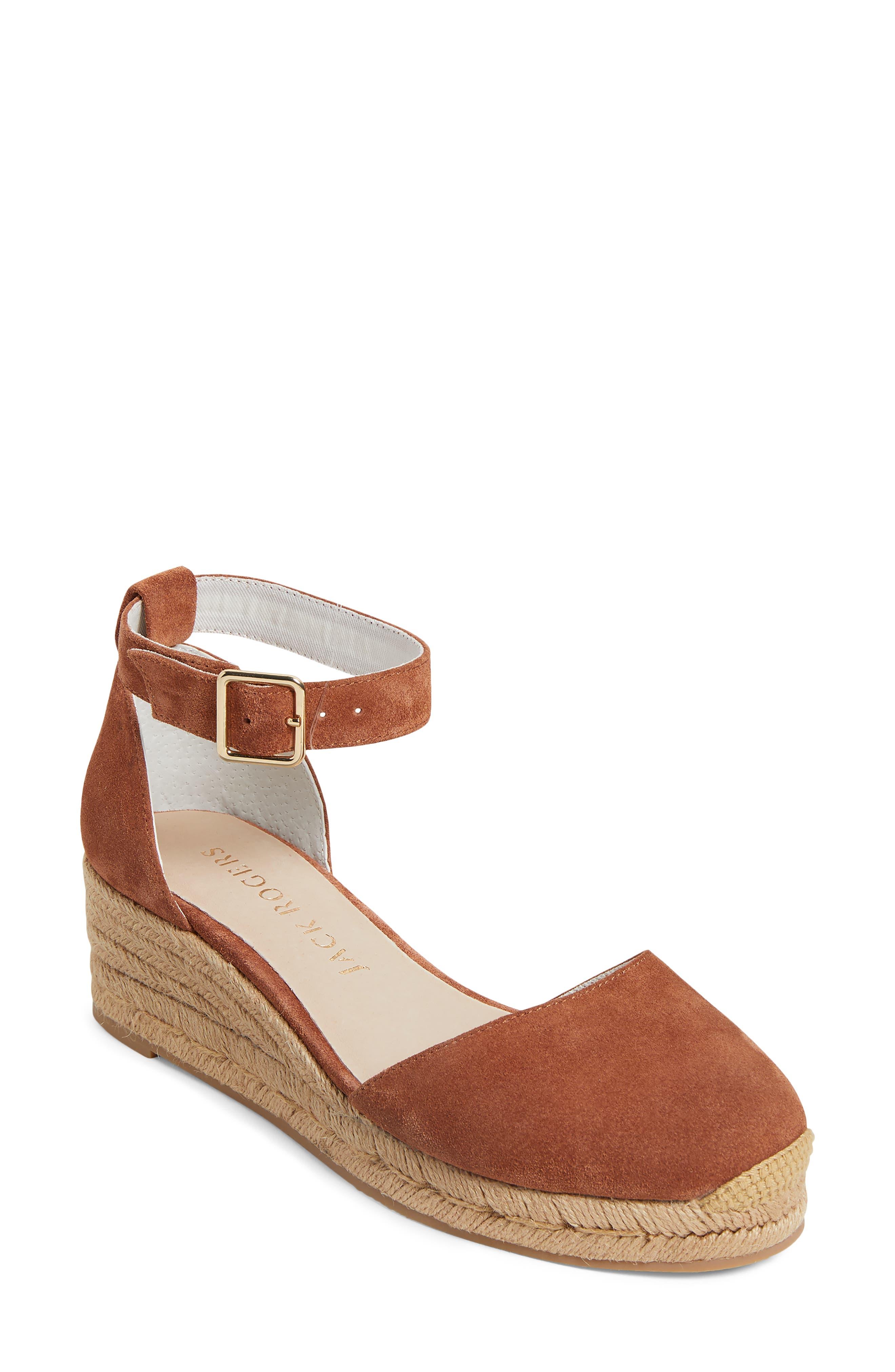 Palmer Ankle Strap Espadrille Wedge