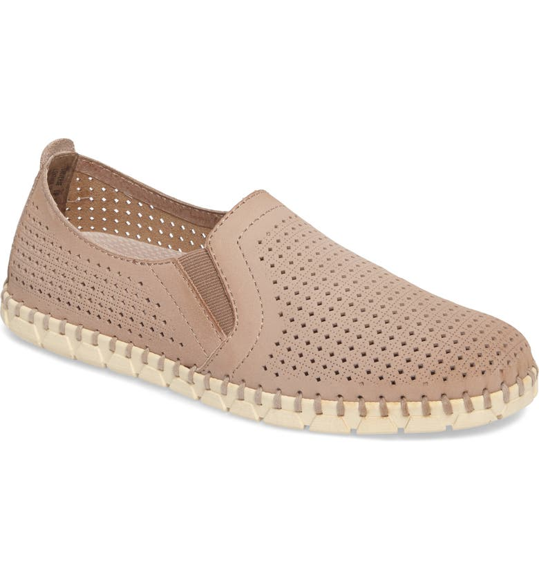 OTBT Universe Slip-On Sneaker, Main, color, COCOA LEATHER