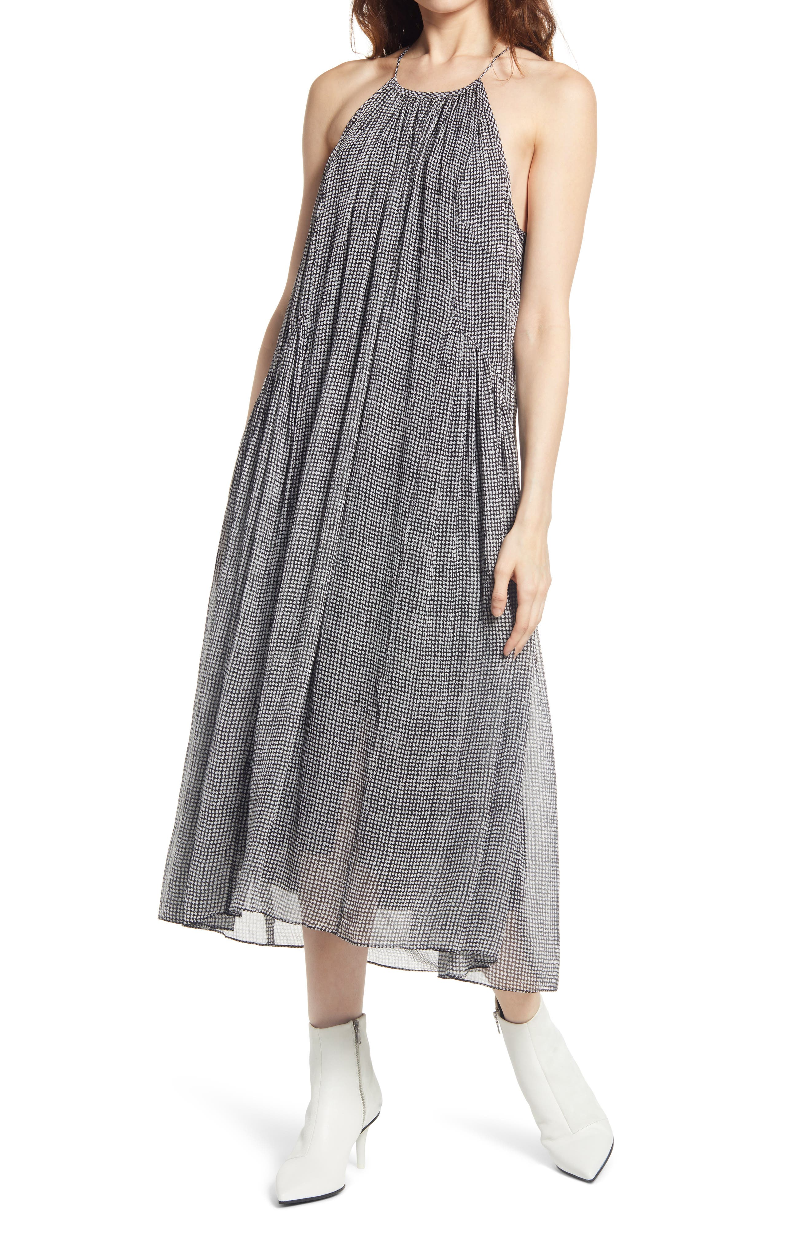 Rag & bone Print Silk Blend Dress | Nordstrom