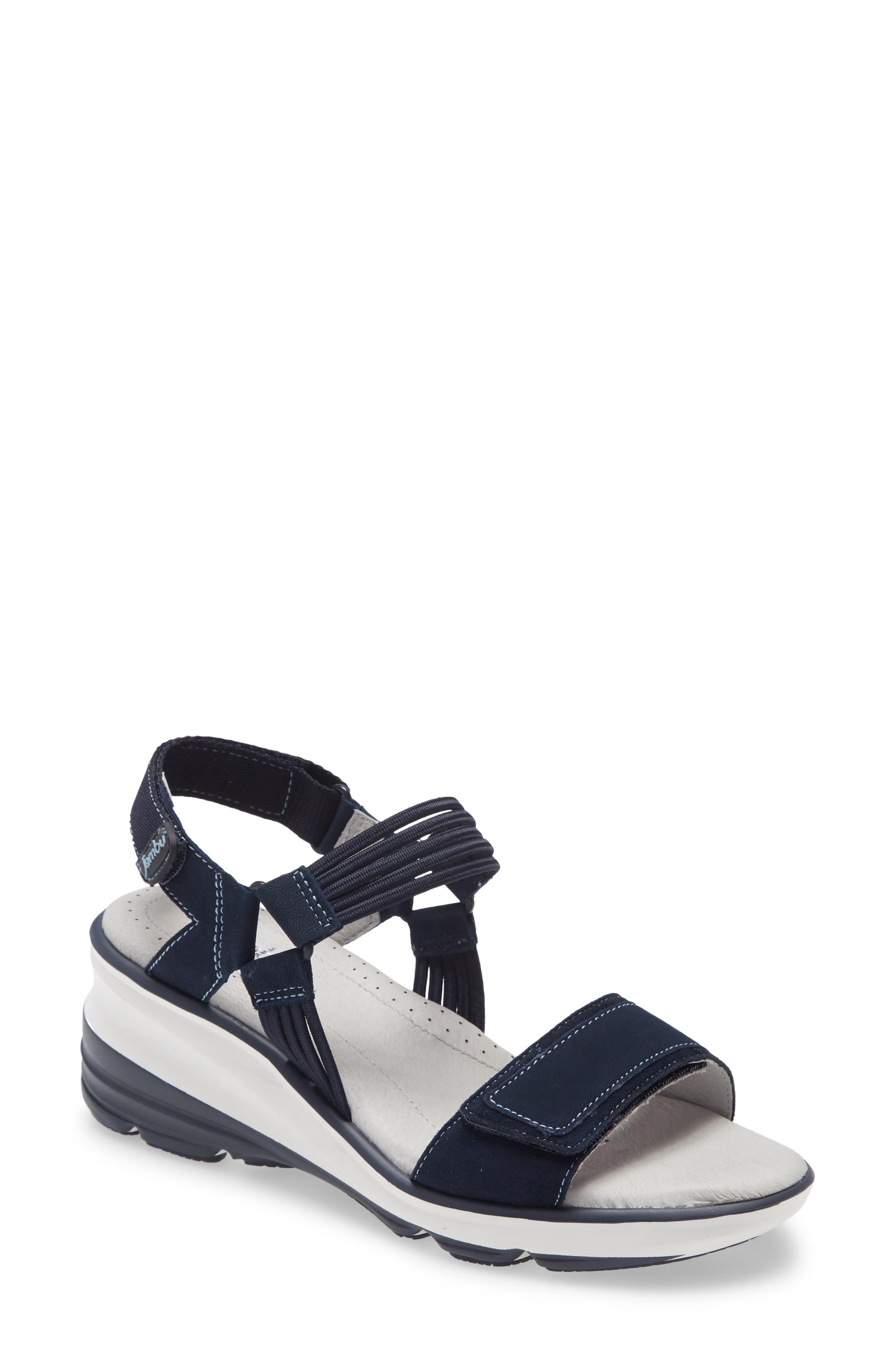 St. Tropaz Slingback Wedge Sandal