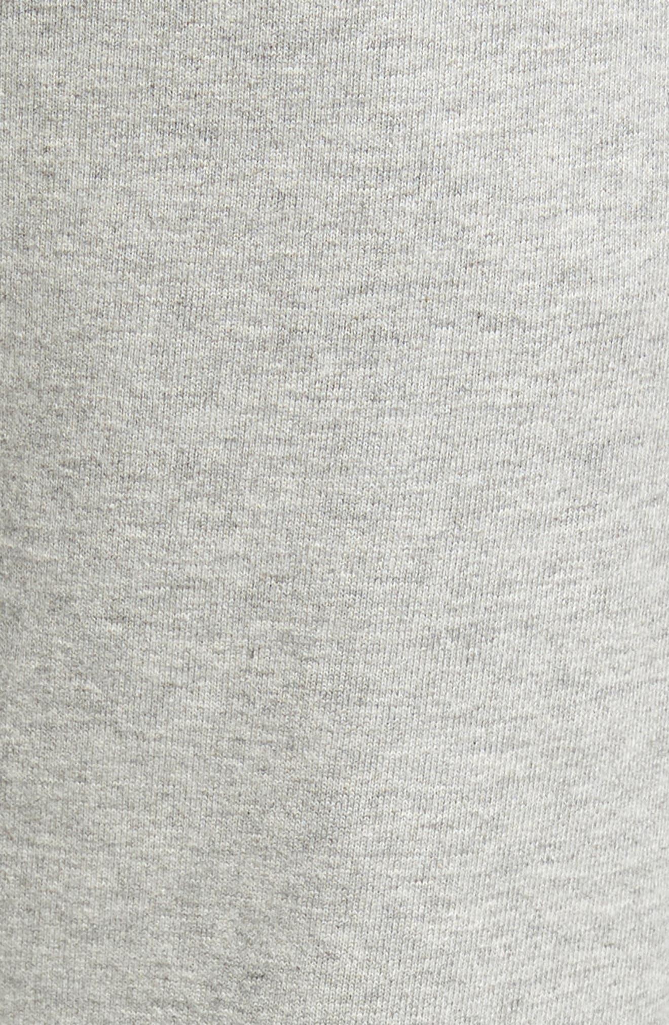 ,                             Cotton Jogger Pants,                             Alternate thumbnail 6, color,                             HEATHER GREY