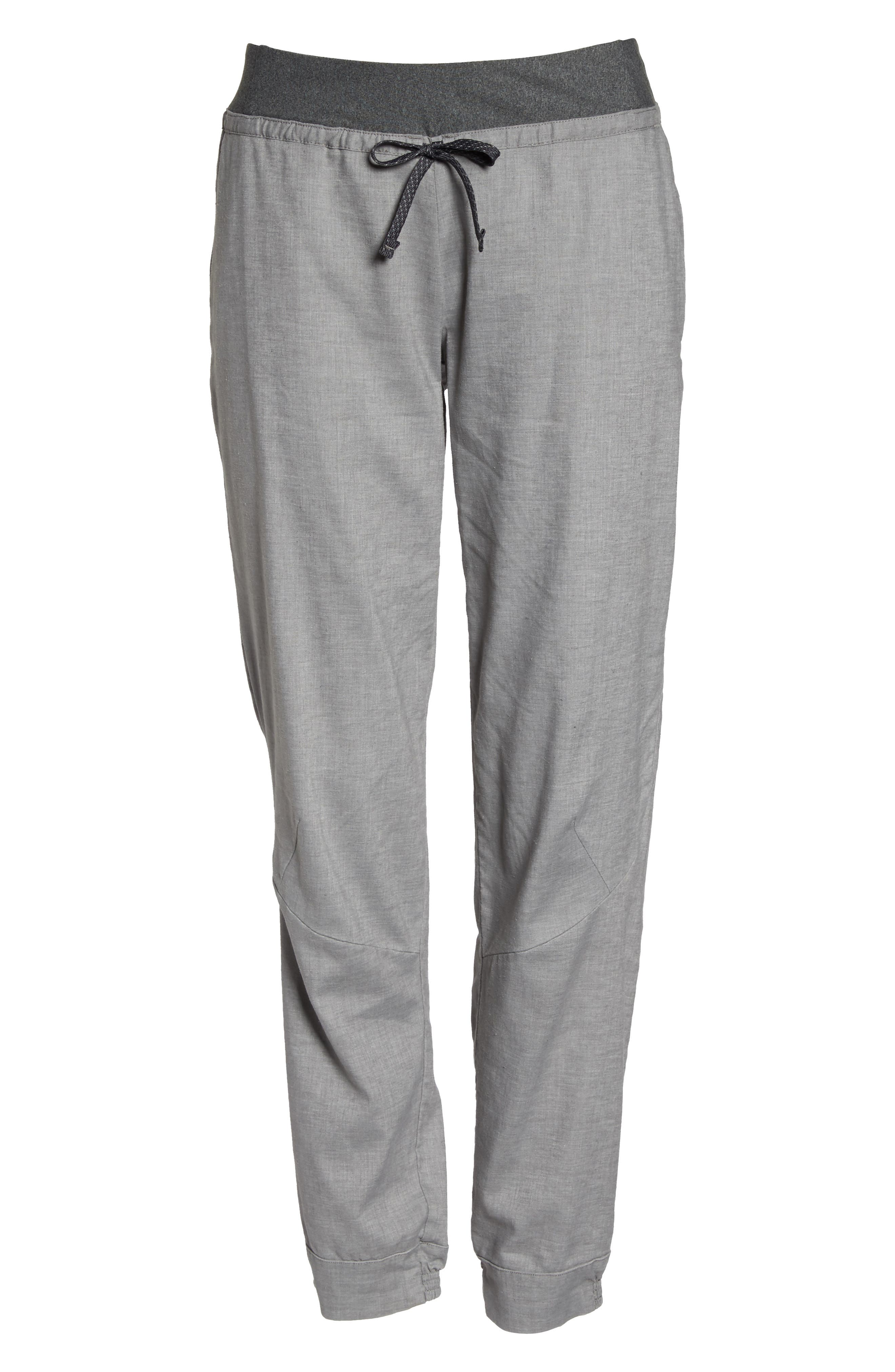 ,                             Women's Hampi Rock Pants,                             Alternate thumbnail 7, color,                             FEATHER GREY