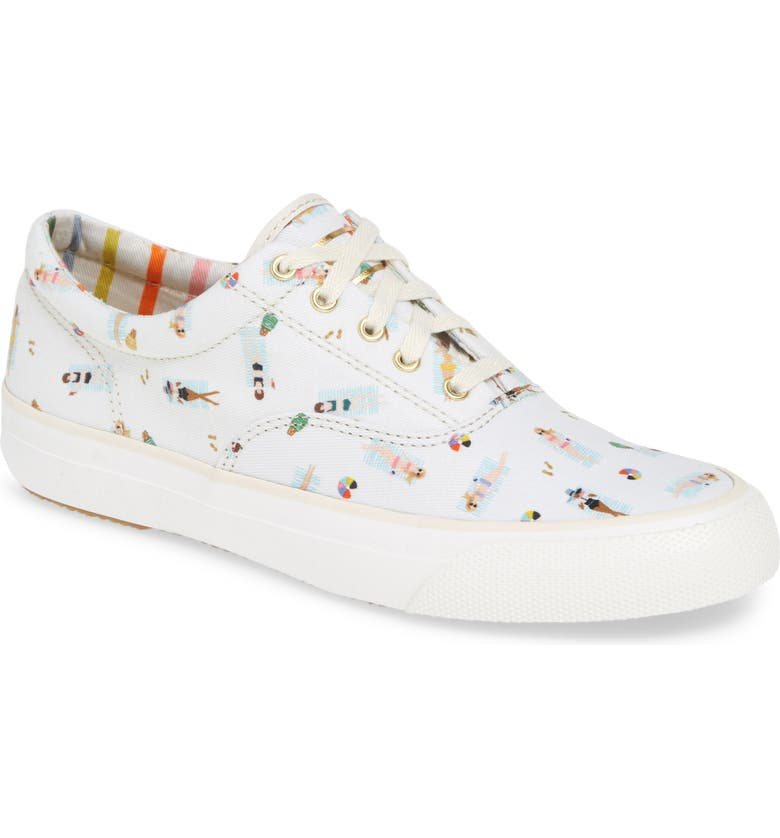 KEDS<SUP>®</SUP> x Rifle Paper Co. Sungirl Anchor Sneaker, Main, color, 100