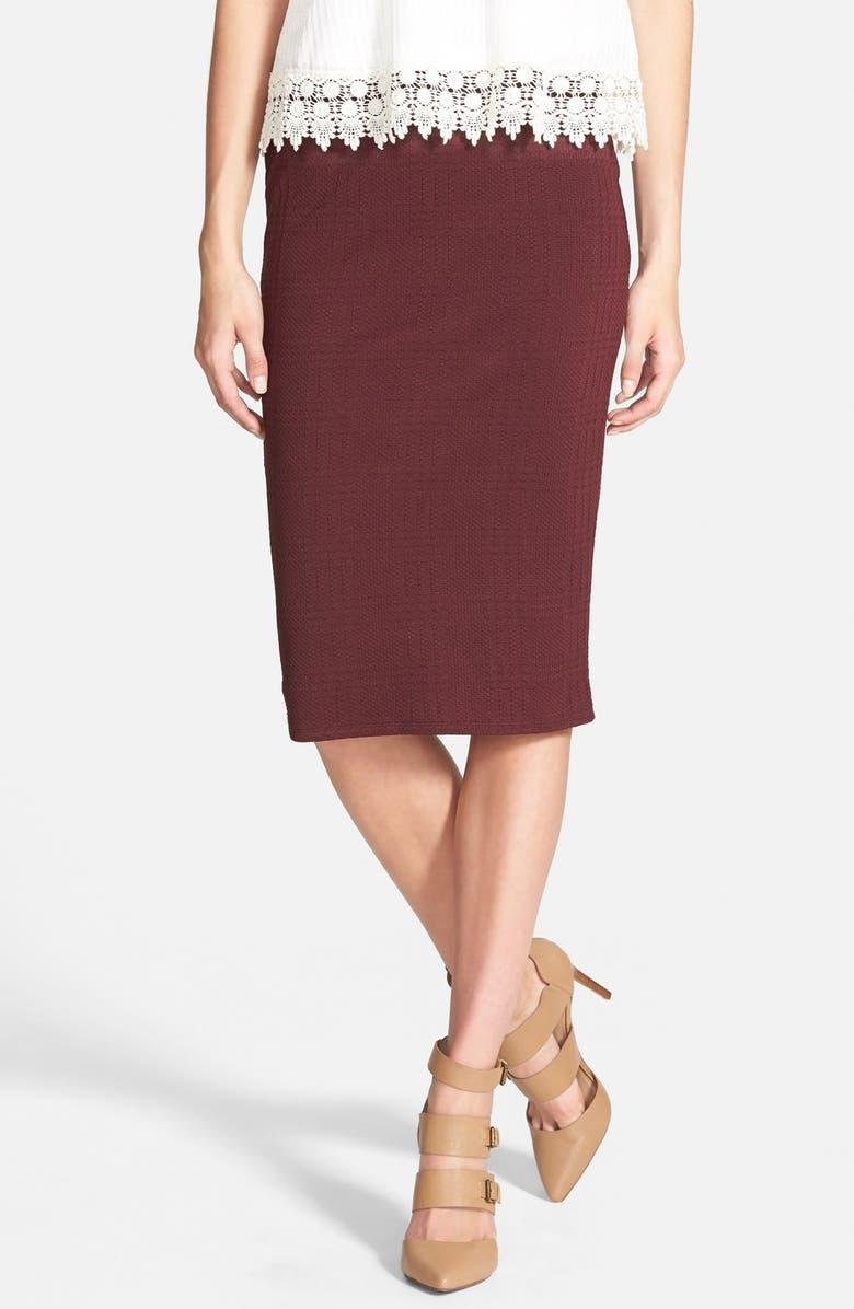 LEITH Textured Tube Skirt, Main, color, 930