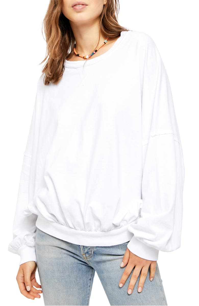 FREE PEOPLE 213 Tee, Main, color, 100