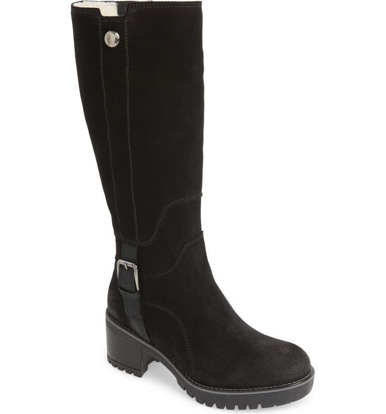 BOS. & CO. Major Waterproof Boot, Main, color, BLACK SUEDE
