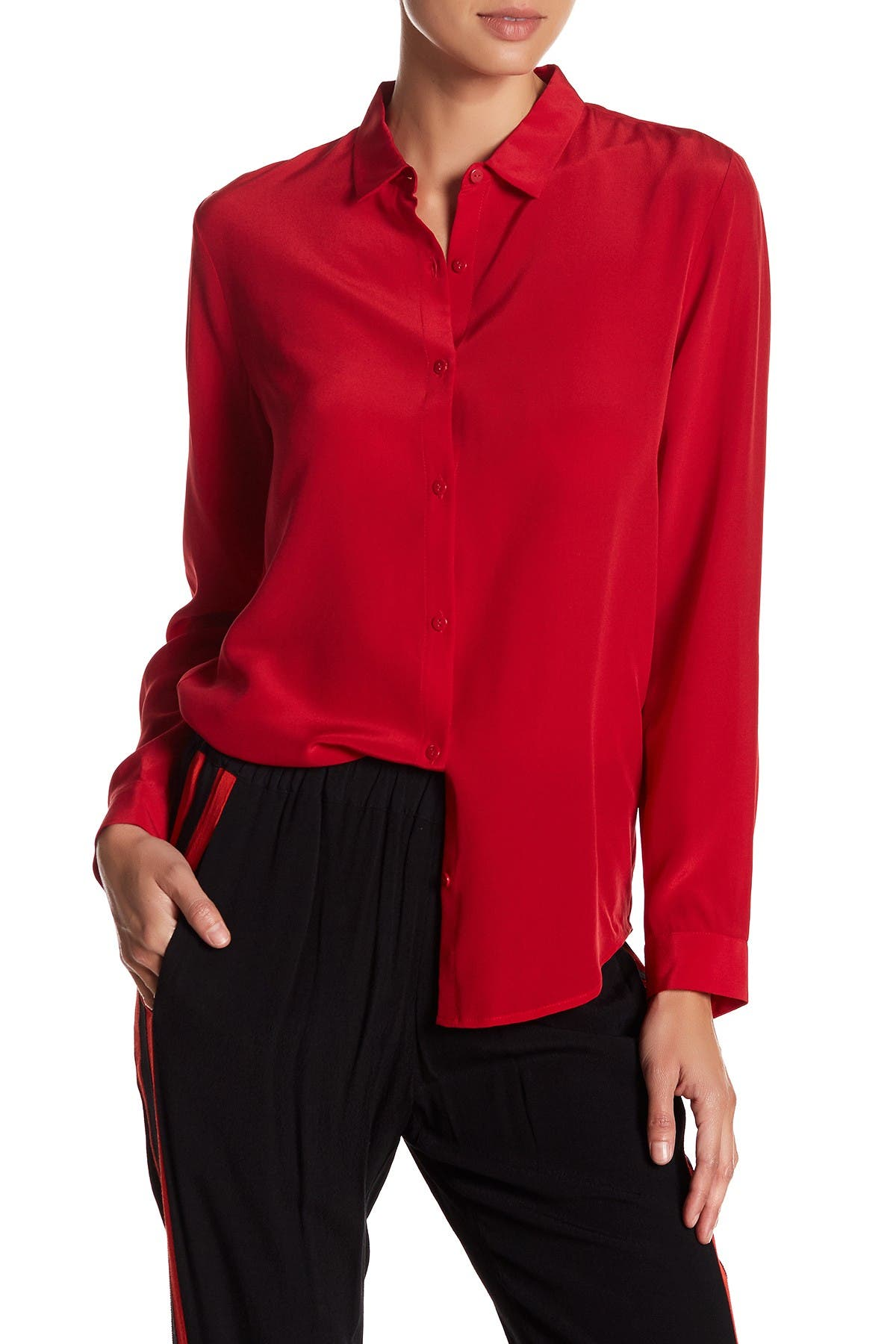 Image of The Kooples Silk Blouse