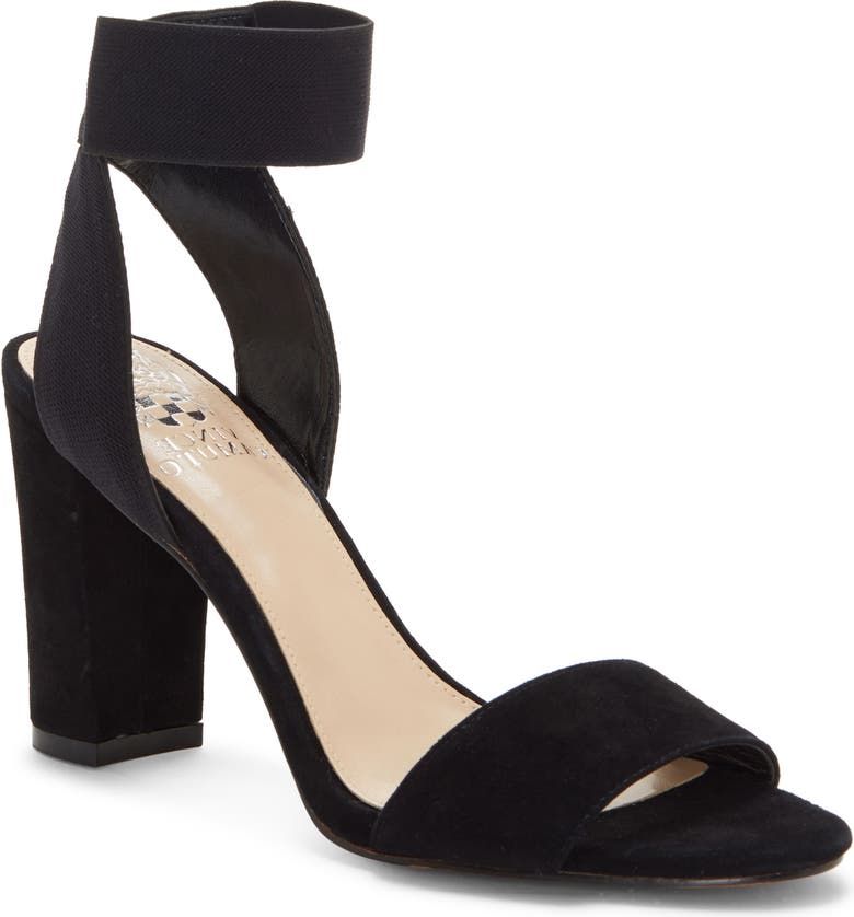 VINCE CAMUTO Citriana Sandal, Main, color, BLACK SUEDE
