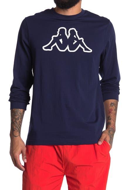 Image of Kappa Active Logo Printed Long Sleeve Sweater