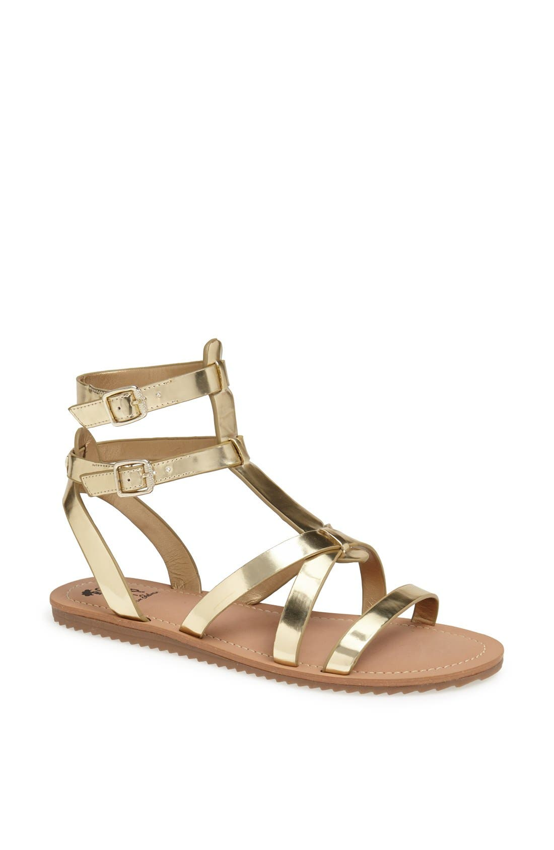 ,                             'Selma' Gladiator Sandal,                             Main thumbnail 21, color,                             710