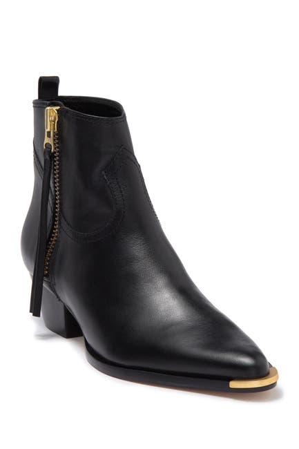Image of Schutz Traci Leather Ankle Boot