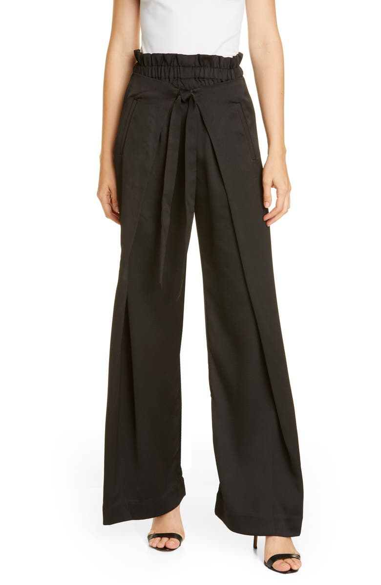 CULT GAIA Naomi Pants, Main, color, BLACK