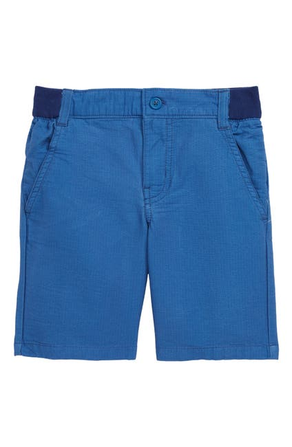 Image of Tea Collection Ribbed Cherry Chino Shorts