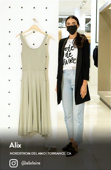 Handkerchief Hem Sleeveless Tank Dress, sales video thumbnail