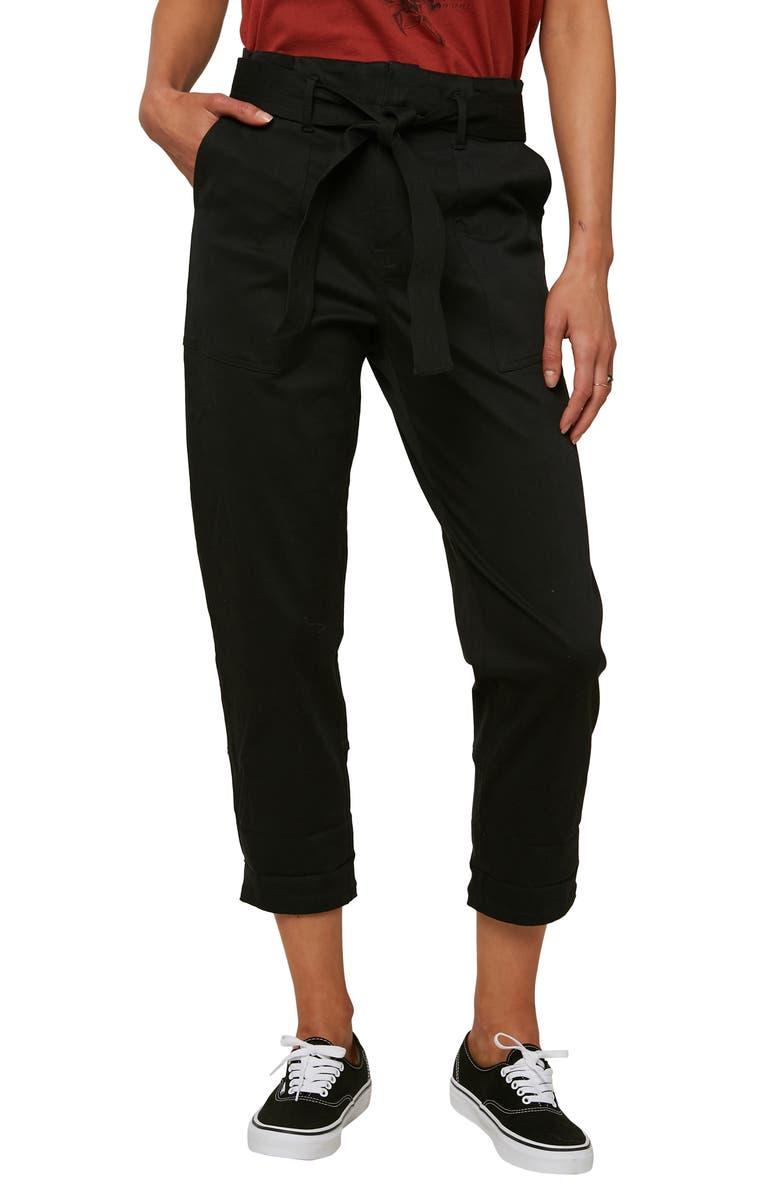 O'NEILL Dillon Woven Capri Pants, Main, color, WASHED BLACK