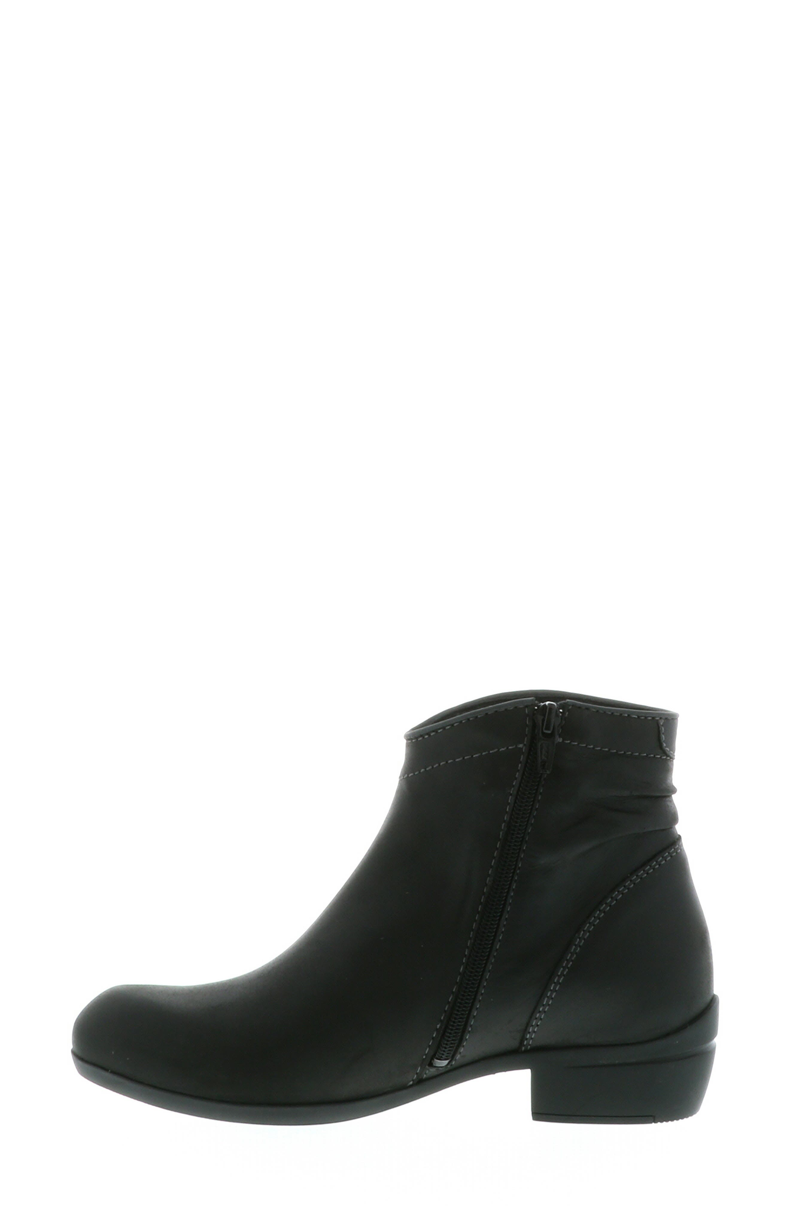 ,                             Winchester Bootie,                             Alternate thumbnail 12, color,                             BLACK/ BLACK LEATHER