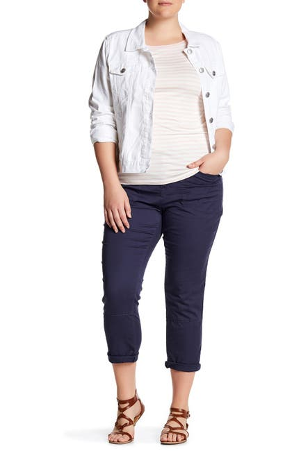 Image of SUPPLIES BY UNIONBAY Midori Stretch Twill Crop Pants