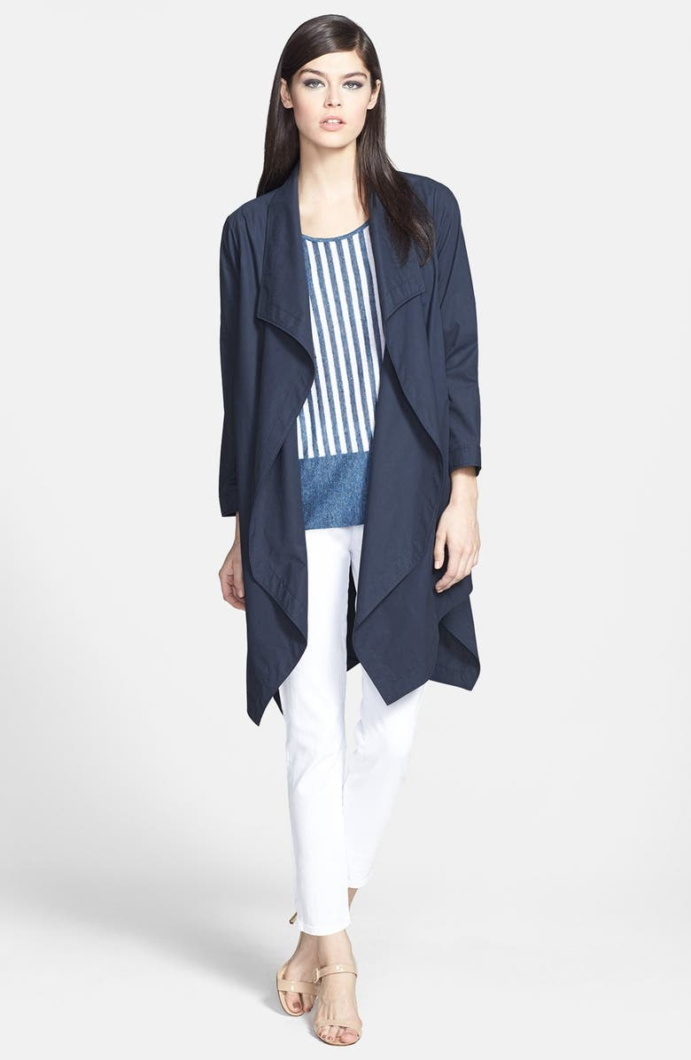 Lafayette 148 New York Topper, Sweater & Jeans, Main, color, 468