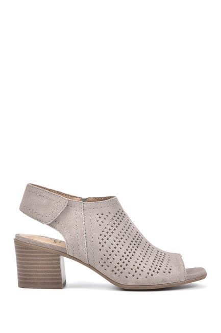 Image of White Mountain Footwear Lorna Peep Toe Bootie