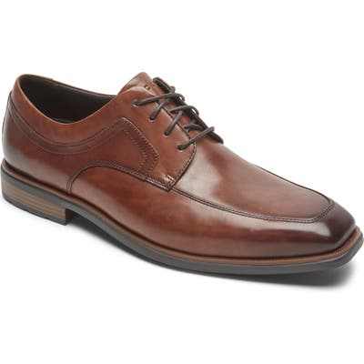 Rockport Dressports Business 2 Apron Toe Derby, Brown