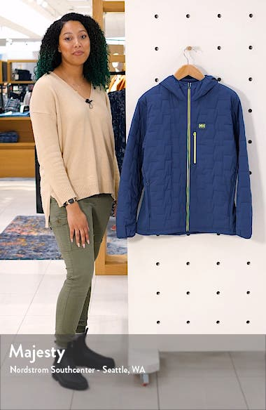 Lifaloft Hooded Stretch Insulated Jacket, sales video thumbnail
