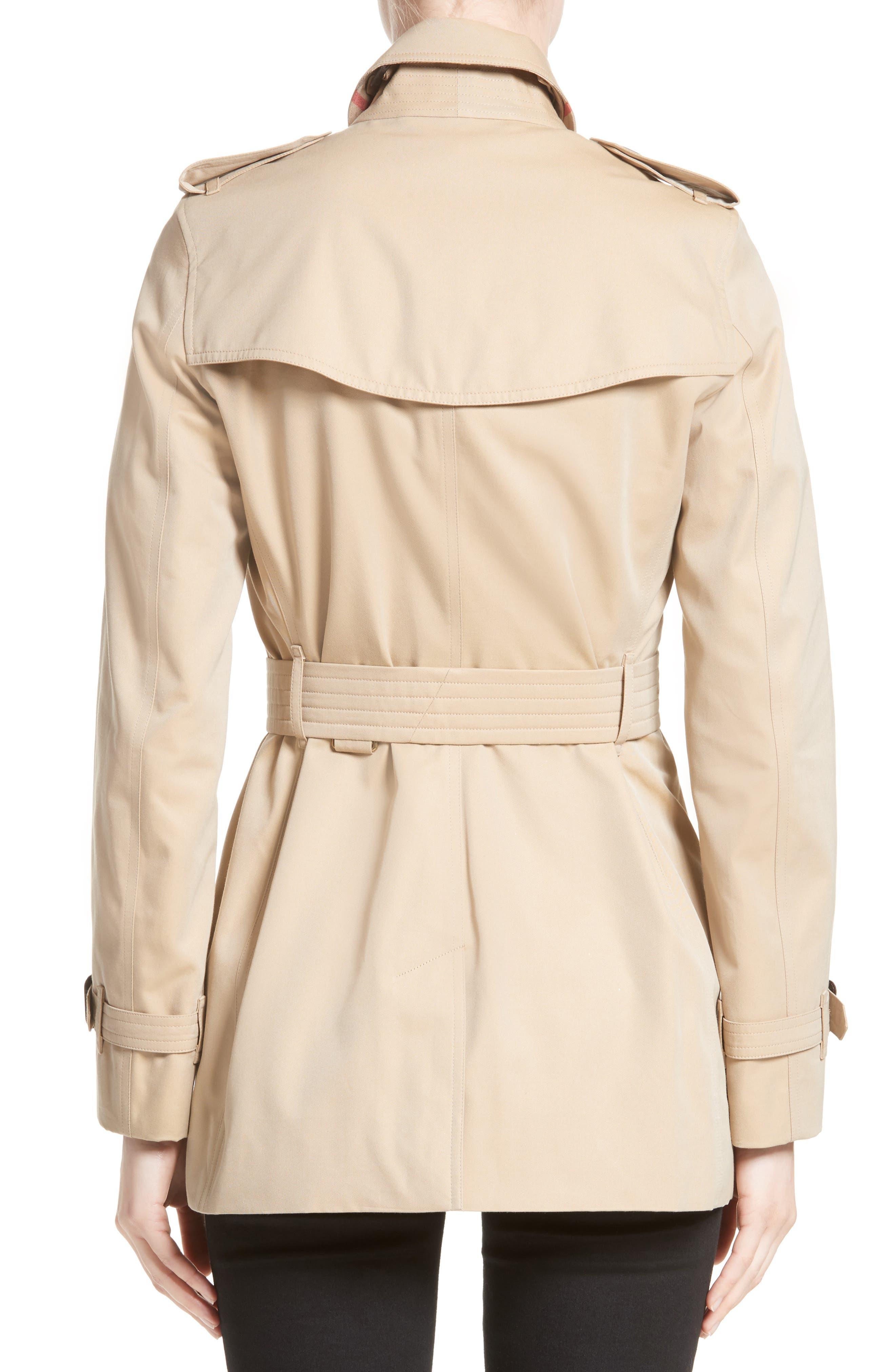 ,                             Kensington Short Trench Coat,                             Alternate thumbnail 2, color,                             260