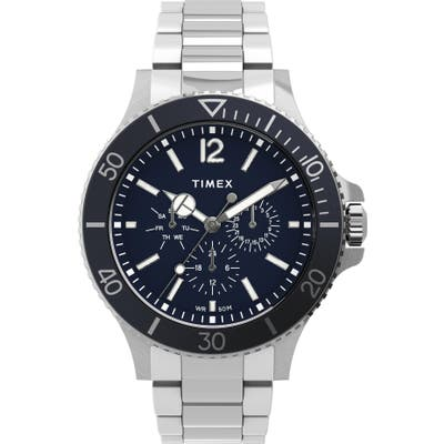 Timex Harborside Multifunction Bracelet Watch, 42mm